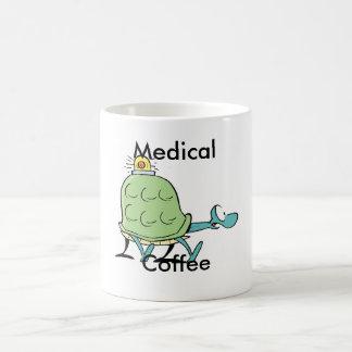 Medizinischer Kaffee-Cartoon Kaffeetasse