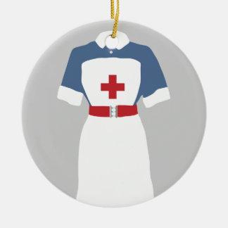 Medizinischer u. Notkrankenpflege-Dienst Keramik Ornament