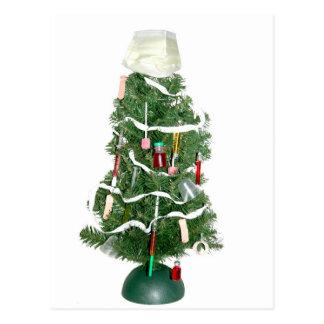 Medizinischer Weihnachtsbaum Postkarte