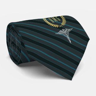Medizinisches berufliches mit Monogramm Krawatte