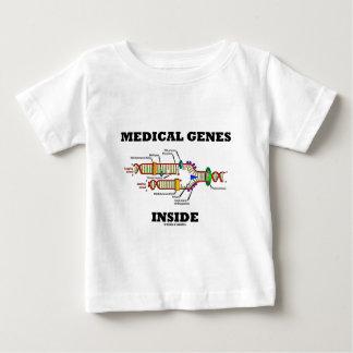 Medizinisches Gen-Innere (DNS-Reproduktion) Baby T-shirt