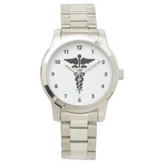 Medizinisches Symbol Armbanduhr