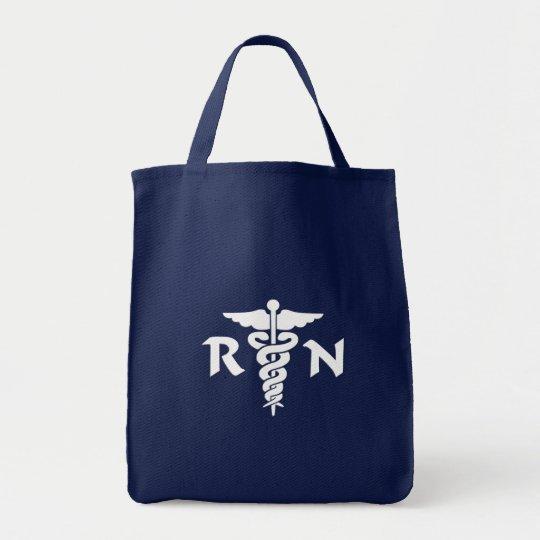 Medizinisches Symbol RN Einkaufstasche