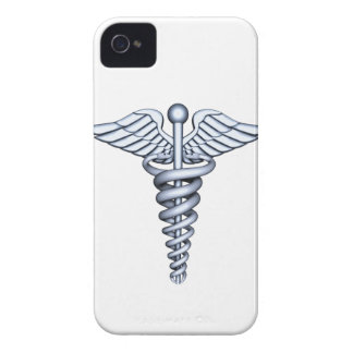 Medizinisches Symbol-Silber Case-Mate iPhone 4 Hülle