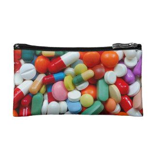 Meds ~ Fotodruck der Drogen/Medikation/Pillen Makeup-Tasche