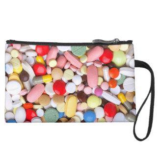Meds ~ Fotodruck der Drogen/Medikation/Pillen Mini Velour Clutch