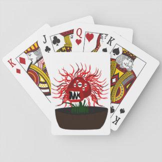 Medusa-Blume Spielkarten