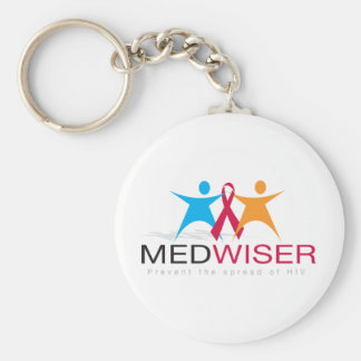 Medwiser Schwarzes Schlüsselanhänger
