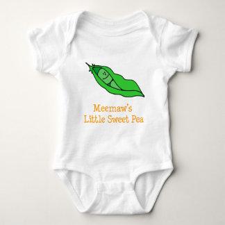 Meemaws wenig süße Erbse Baby Strampler