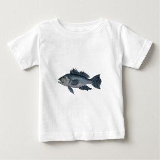 Meer-Baß 3 unterzeichnetes 2442.jpg Baby T-shirt
