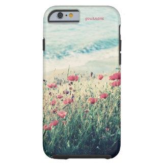 Meer der Mohnblumen Tough iPhone 6 Hülle