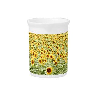 Meer der Sonnenblumen Krug