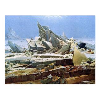 Meer des Eises - DAS Eismeer - La Mer de Glaces Postkarte