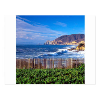 Meer Half Moon Bay Kalifornien Postkarte