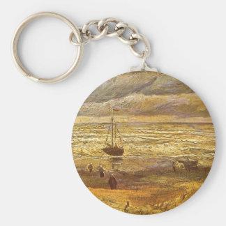 Meer in Scheveningen durch Vincent van Gogh Schlüsselanhänger