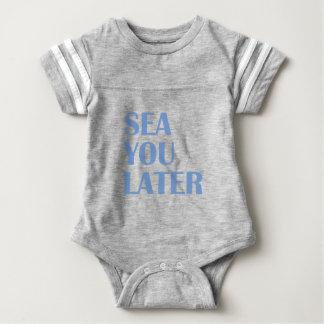 Meer Sie später Baby Strampler