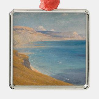Meer und Sonnenschein Silbernes Ornament