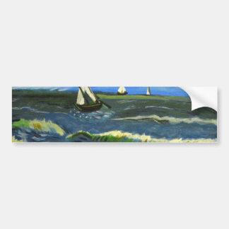 Meerblick bei Saintes-Maries, Van Gogh Autoaufkleber