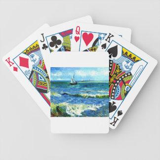 Meerblick bei Saintes-Maries, Vincent van Gogh Bicycle Spielkarten