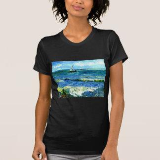 Meerblick bei Saintes-Maries, Vincent van Gogh T-Shirt