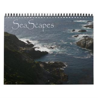 Meerblick-Kalender Abreißkalender