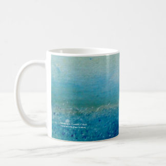Meerblick, kornische Küste Kaffeetasse