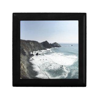 Meerblick-Pazifikküste-Landstraße großes Sur Geschenkbox