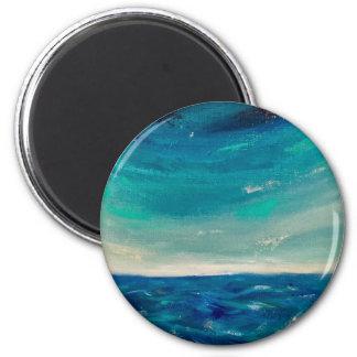 Meerblick Runder Magnet 5,7 Cm
