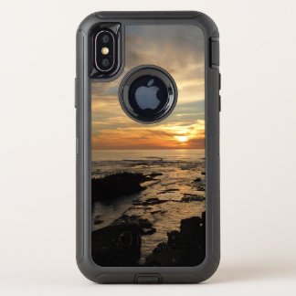 Meerblick San Diego Sonnenuntergang-I Kalifornien OtterBox Defender iPhone X Hülle