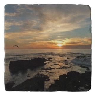 Meerblick San Diego Sonnenuntergang-I Kalifornien Töpfeuntersetzer
