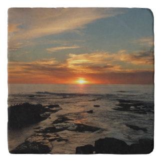 Meerblick San Diego Sonnenuntergang-II Kalifornien Töpfeuntersetzer