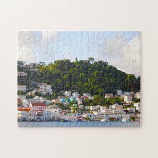 Meerblicke der Grenadinen Puzzle