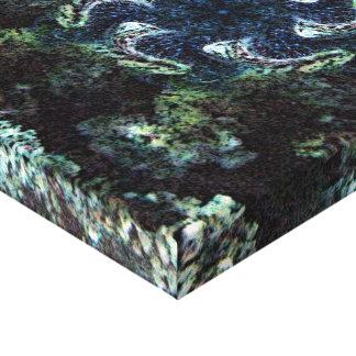 Meeresgrund-Strudel Leinwanddruck
