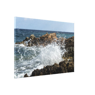 meeresküste gespannter galeriedruck