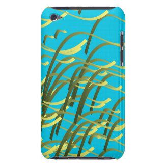 Meerespflanze auf Aqua Barely There iPod Case