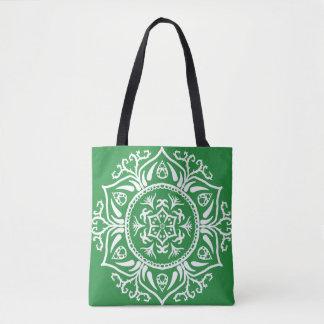 Meerespflanze-Mandala Tasche