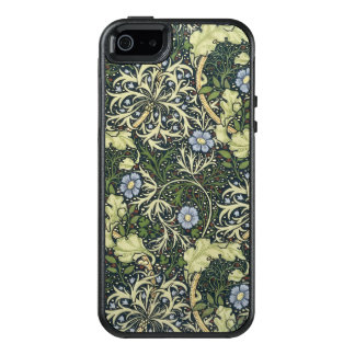 Meerespflanze-Muster-Vintage mit Blumenkunst OtterBox iPhone 5/5s/SE Hülle