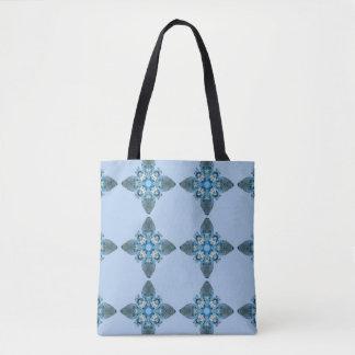 Meerespflanze-Stern-Blues Tasche
