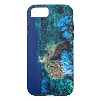 Meeresschildkröte auf dem Great Barrier Reef iPhone 8/7 Hülle