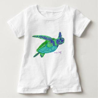 Meeresschildkröte-Baby-Spielanzug Baby Strampler
