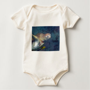 Meeresschildkröte Baby Strampler
