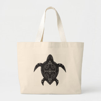 Meeresschildkröte-Bauch Jumbo Stoffbeutel