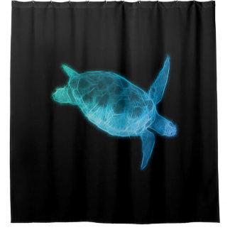 Meeresschildkröte Duschvorhang