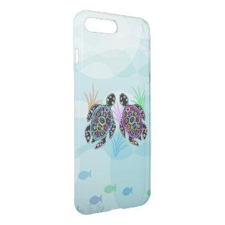 Meeresschildkröte-Glühen iPhone 8 Plus/7 Plus Hülle