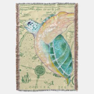 Meeresschildkröte-Karte Decke