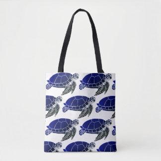 Meeresschildkröte-Muster Tasche