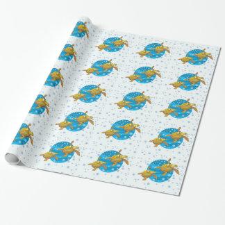 Meeresschildkröte-Packpapier Geschenkpapier