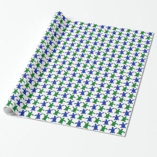 Meeresschildkrötehatchlings-Packpapier Geschenkpapier