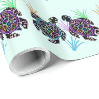 Meeresschildkröten Geschenkpapier