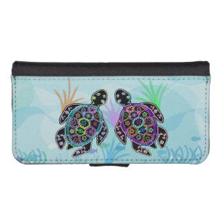 Meeresschildkröten iPhone SE/5/5s Geldbeutel Hülle